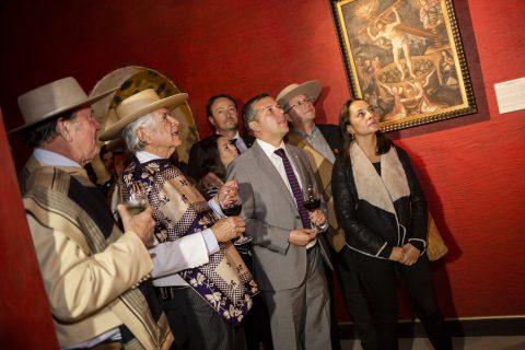 Recorrido con autoridades por el recién inaugurado Museo del Vino